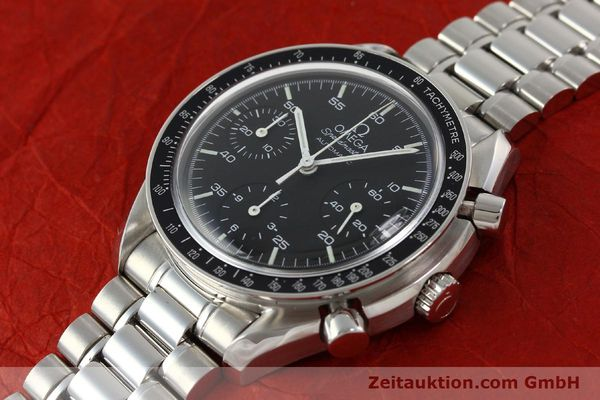 Used luxury watch Omega Speedmaster chronograph steel automatic Kal. 1143 ETA 2890A2  | 142694 01