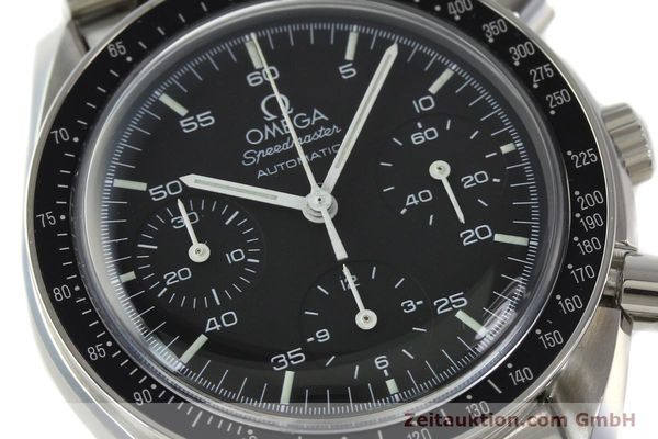 Used luxury watch Omega Speedmaster chronograph steel automatic Kal. 1143 ETA 2890A2  | 142694 02