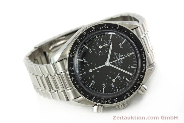 Used luxury watch Omega Speedmaster chronograph steel automatic Kal. 1143 ETA 2890A2  | 142694 03