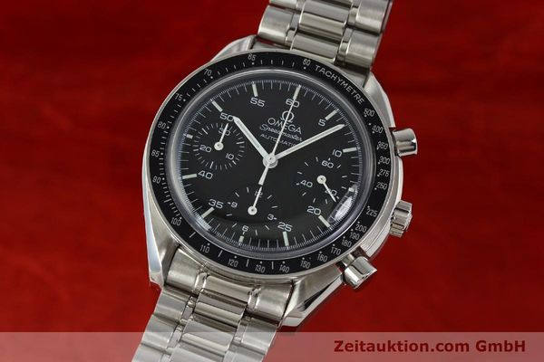Used luxury watch Omega Speedmaster chronograph steel automatic Kal. 1143 ETA 2890A2  | 142694 04