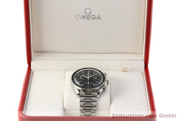 Used luxury watch Omega Speedmaster chronograph steel automatic Kal. 1143 ETA 2890A2  | 142694 07