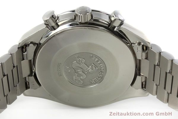 Used luxury watch Omega Speedmaster chronograph steel automatic Kal. 1143 ETA 2890A2  | 142694 09
