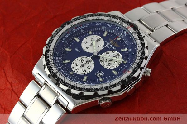 Used luxury watch Breitling Jupiterpilot chronograph steel quartz Kal. B233 Ref. A59028  | 142696 01
