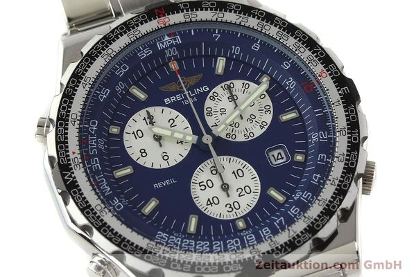 Used luxury watch Breitling Jupiterpilot chronograph steel quartz Kal. B233 Ref. A59028  | 142696 02