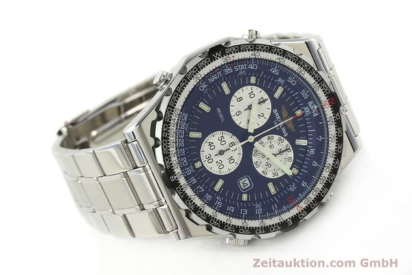 Used luxury watch Breitling Jupiterpilot chronograph steel quartz Kal. B233 Ref. A59028  | 142696 03
