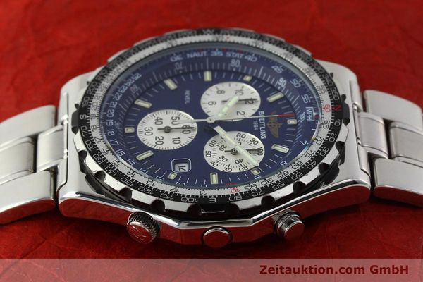Used luxury watch Breitling Jupiterpilot chronograph steel quartz Kal. B233 Ref. A59028  | 142696 05