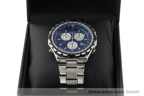 Used luxury watch Breitling Jupiterpilot chronograph steel quartz Kal. B233 Ref. A59028  | 142696 07