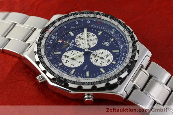 Used luxury watch Breitling Jupiterpilot chronograph steel quartz Kal. B233 Ref. A59028  | 142696 14