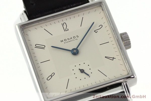 Used luxury watch Nomos Tetra steel manual winding Kal. ETA 7001  | 142697 02