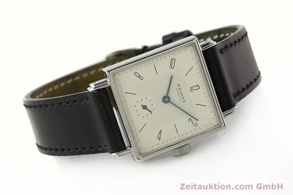 Used luxury watch Nomos Tetra steel manual winding Kal. ETA 7001  | 142697 03