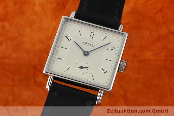 Used luxury watch Nomos Tetra steel manual winding Kal. ETA 7001  | 142697 04
