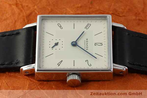 Used luxury watch Nomos Tetra steel manual winding Kal. ETA 7001  | 142697 05