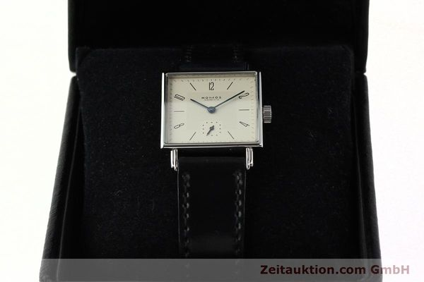 Used luxury watch Nomos Tetra steel manual winding Kal. ETA 7001  | 142697 07