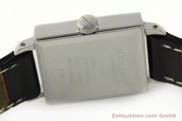 Used luxury watch Nomos Tetra steel manual winding Kal. ETA 7001  | 142697 08