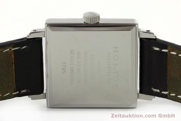 Used luxury watch Nomos Tetra steel manual winding Kal. ETA 7001  | 142697 09