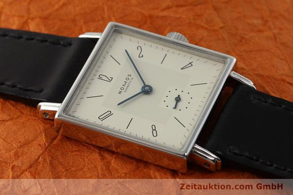 Used luxury watch Nomos Tetra steel manual winding Kal. ETA 7001  | 142697 13