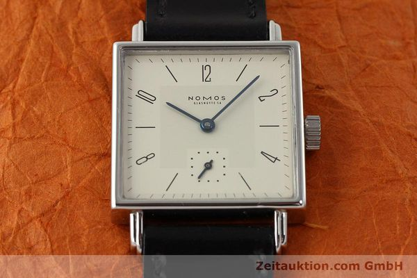 Used luxury watch Nomos Tetra steel manual winding Kal. ETA 7001  | 142697 14