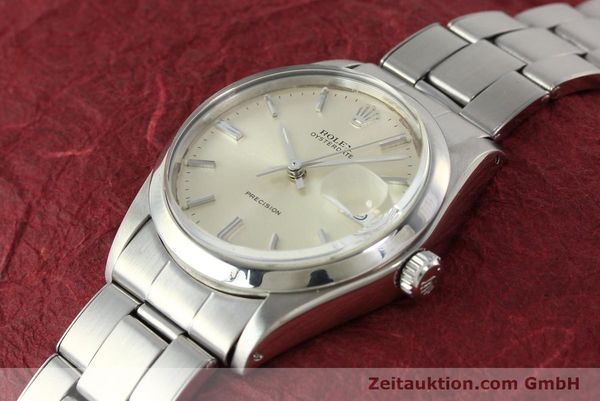 Used luxury watch Rolex Precision steel manual winding Kal. 1225 Ref. 6694  | 142699 01
