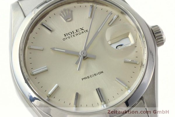 Used luxury watch Rolex Precision steel manual winding Kal. 1225 Ref. 6694  | 142699 02