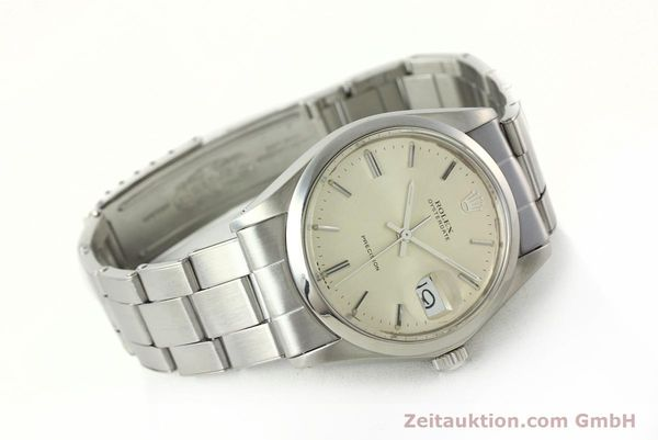 Used luxury watch Rolex Precision steel manual winding Kal. 1225 Ref. 6694  | 142699 03