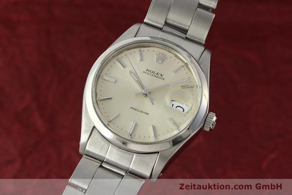 Used luxury watch Rolex Precision steel manual winding Kal. 1225 Ref. 6694  | 142699 04