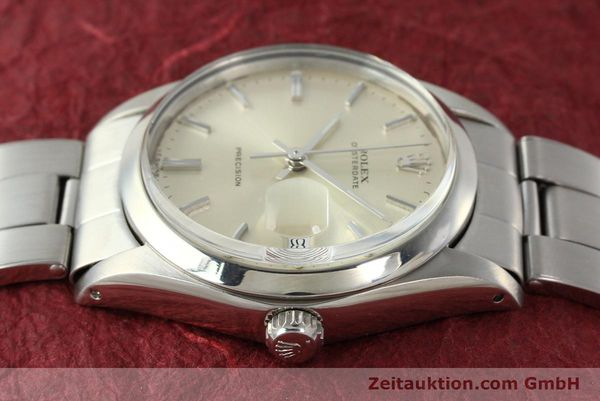 Used luxury watch Rolex Precision steel manual winding Kal. 1225 Ref. 6694  | 142699 05