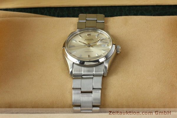 Used luxury watch Rolex Precision steel manual winding Kal. 1225 Ref. 6694  | 142699 07