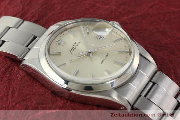 Used luxury watch Rolex Precision steel manual winding Kal. 1225 Ref. 6694  | 142699 15