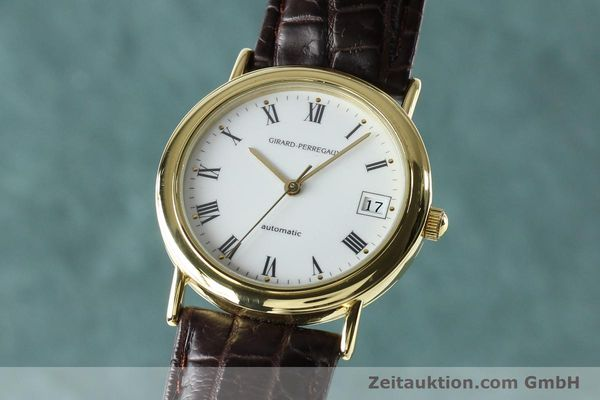 Used luxury watch Girard Perregaux * 18 ct gold automatic Kal. 2200 Ref. 4799.51  | 142705 04