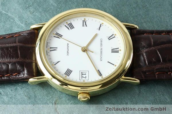 Used luxury watch Girard Perregaux * 18 ct gold automatic Kal. 2200 Ref. 4799.51  | 142705 05
