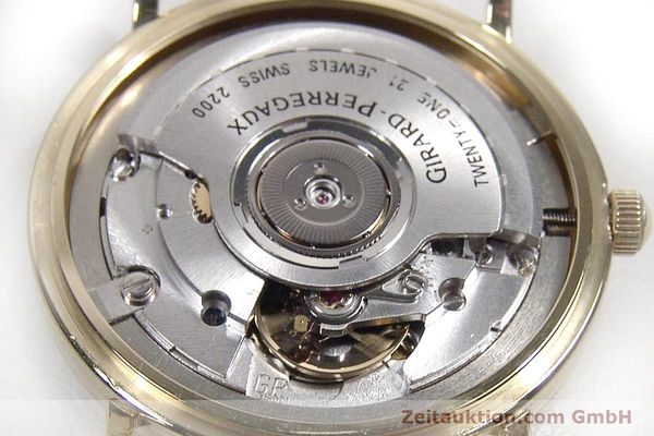 Used luxury watch Girard Perregaux * 18 ct gold automatic Kal. 2200 Ref. 4799.51  | 142705 10