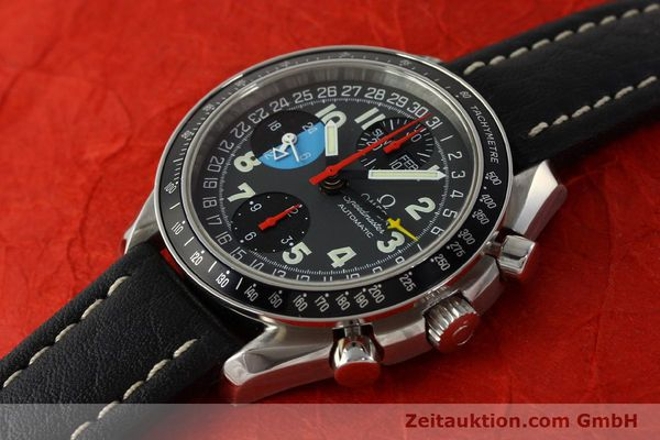 Used luxury watch Omega Speedmaster chronograph steel automatic Kal. 1151  | 142707 01