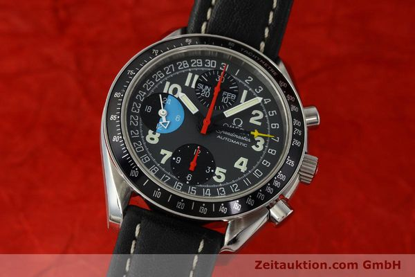 Used luxury watch Omega Speedmaster chronograph steel automatic Kal. 1151  | 142707 04