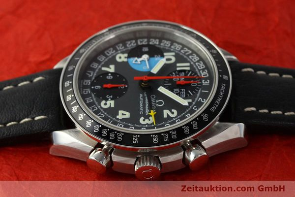 Used luxury watch Omega Speedmaster chronograph steel automatic Kal. 1151  | 142707 05