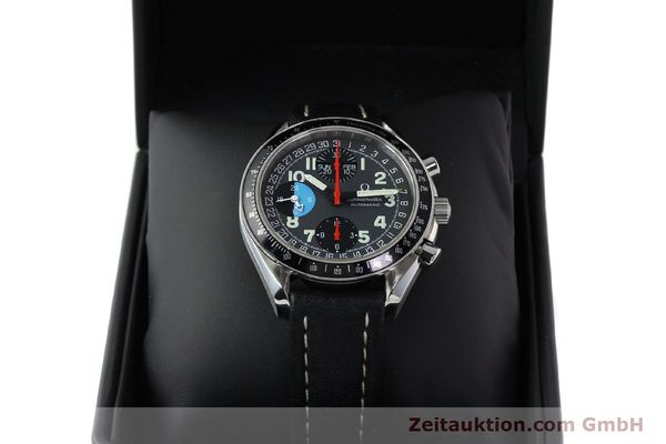 Used luxury watch Omega Speedmaster chronograph steel automatic Kal. 1151  | 142707 07