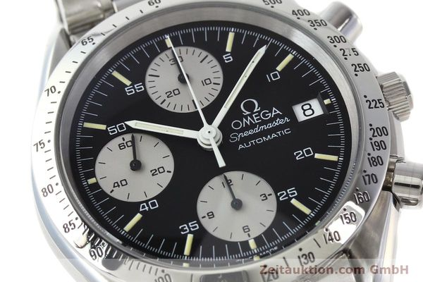 Used luxury watch Omega Speedmaster chronograph steel automatic Kal. 1155 ETA 7750  | 142708 02