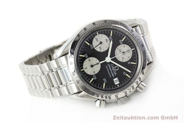 Used luxury watch Omega Speedmaster chronograph steel automatic Kal. 1155 ETA 7750  | 142708 03