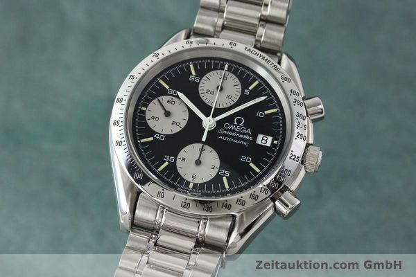 Used luxury watch Omega Speedmaster chronograph steel automatic Kal. 1155 ETA 7750  | 142708 04