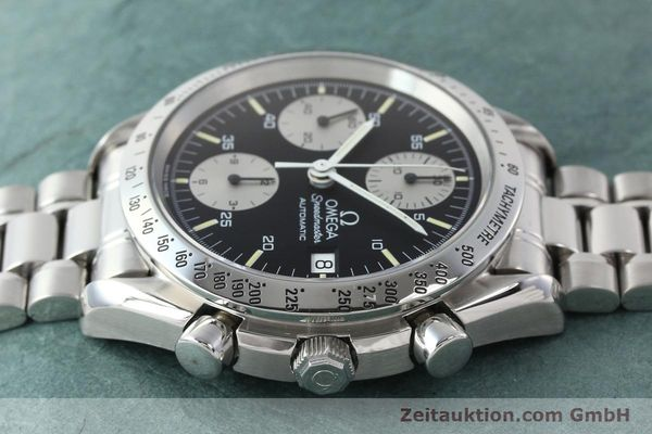 Used luxury watch Omega Speedmaster chronograph steel automatic Kal. 1155 ETA 7750  | 142708 05