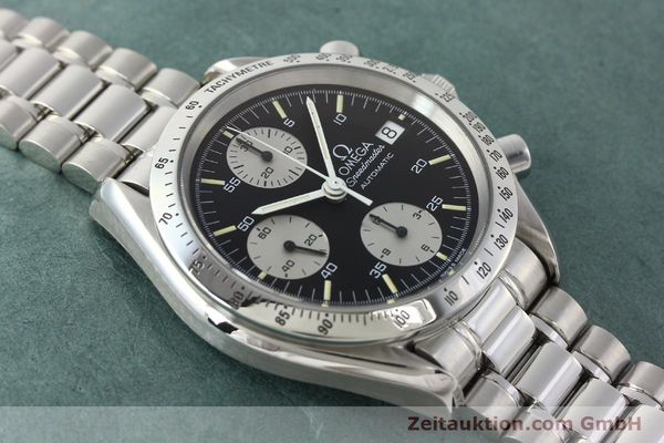 Used luxury watch Omega Speedmaster chronograph steel automatic Kal. 1155 ETA 7750  | 142708 14