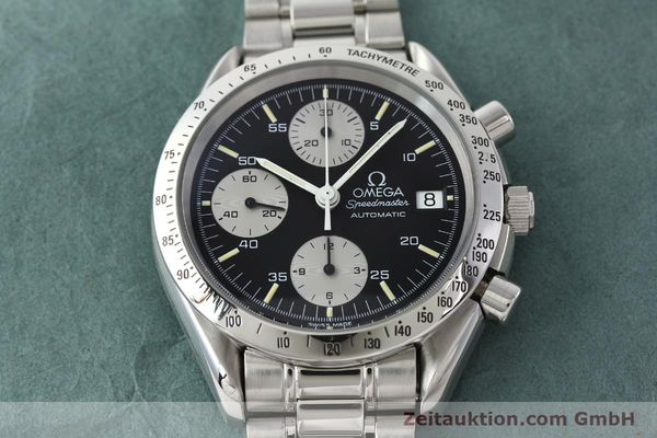 Used luxury watch Omega Speedmaster chronograph steel automatic Kal. 1155 ETA 7750  | 142708 15