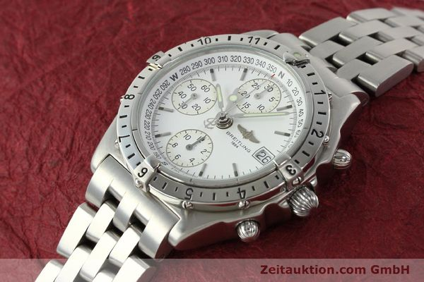 Used luxury watch Breitling Chronomat chronograph steel automatic Kal. B20 ETA 7750 Ref. A20048  | 142711 01