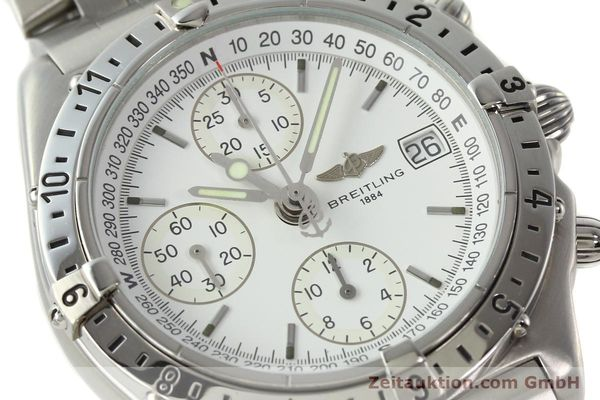 Used luxury watch Breitling Chronomat chronograph steel automatic Kal. B20 ETA 7750 Ref. A20048  | 142711 02