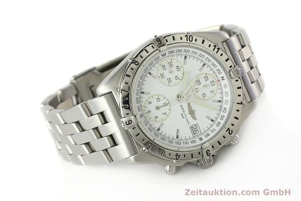 Used luxury watch Breitling Chronomat chronograph steel automatic Kal. B20 ETA 7750 Ref. A20048  | 142711 03