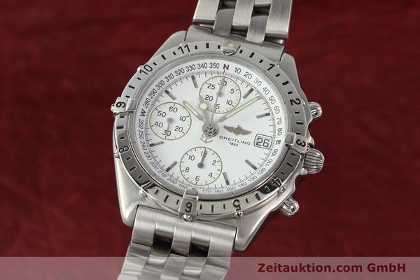 Used luxury watch Breitling Chronomat chronograph steel automatic Kal. B20 ETA 7750 Ref. A20048  | 142711 04
