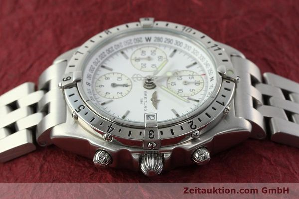 Used luxury watch Breitling Chronomat chronograph steel automatic Kal. B20 ETA 7750 Ref. A20048  | 142711 05