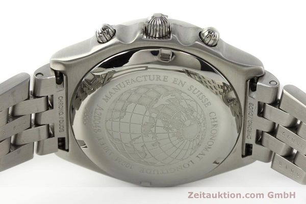 Used luxury watch Breitling Chronomat chronograph steel automatic Kal. B20 ETA 7750 Ref. A20048  | 142711 09