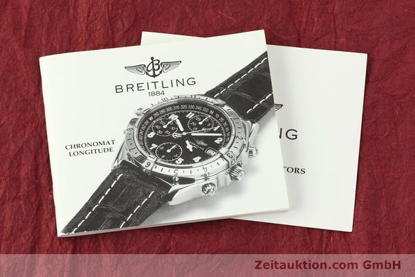 Used luxury watch Breitling Chronomat chronograph steel automatic Kal. B20 ETA 7750 Ref. A20048  | 142711 13