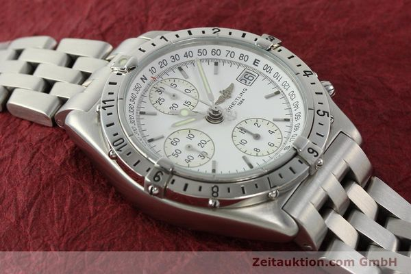 Used luxury watch Breitling Chronomat chronograph steel automatic Kal. B20 ETA 7750 Ref. A20048  | 142711 15