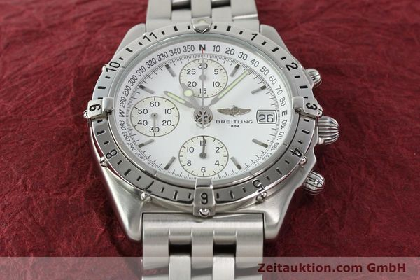 Used luxury watch Breitling Chronomat chronograph steel automatic Kal. B20 ETA 7750 Ref. A20048  | 142711 16